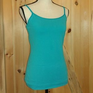 Express Bra Cami in Turquoise
